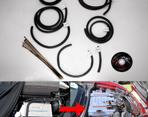 American Car Craft Vacuum Line Tuck Kit 7pc 053068
