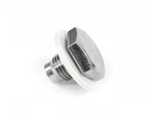 ACP Oil Pan Drain Plug With Gasket Chrome FM-EO007