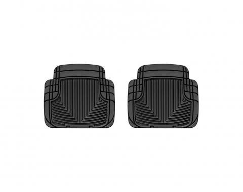 WeatherTech W50 - Black All Weather Floor Mats