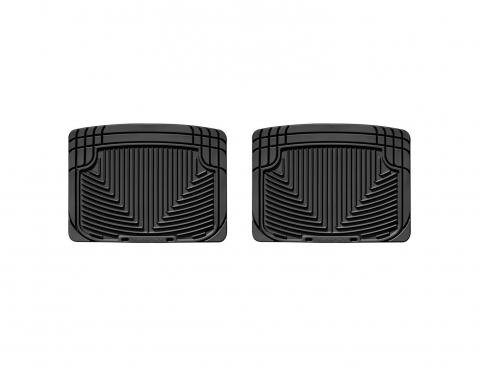 WeatherTech W20 - Black All Weather Floor Mats