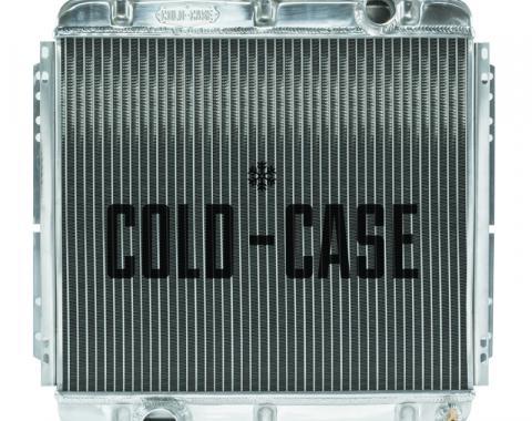 Cold Case Radiators 67-69 Mustang 20 Inch Aluminum Performance Radiator MT FOM560