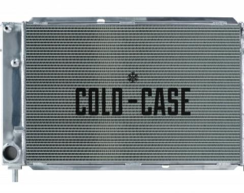 Cold Case Radiators 96 Ford Mustang 4.6L Aluminum Performance Radiator Manual Transmission LMM572