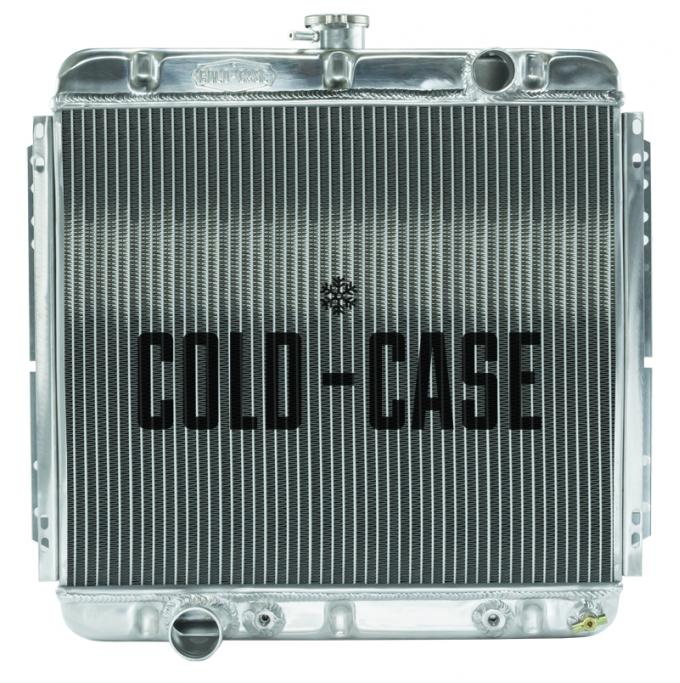 Cold Case Radiators 67-70 Mustang 20 Inch Aluminum Performance Radiator AT FOM560A