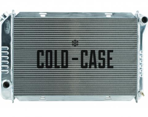 Cold Case Radiators 1971-1973 Ford Mustang V8 Aluminum Radiator 26 Inch Small Block Manual Transmission FOM578
