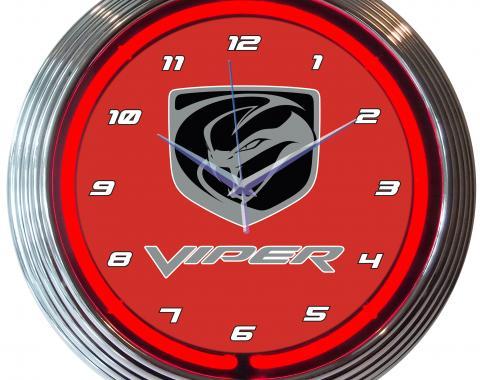 Neonetics Neon Clocks, Viper Neon Clock