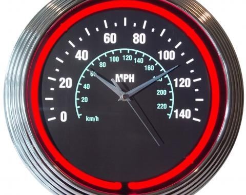 Neonetics Neon Clocks, Speedometer Neon Clock
