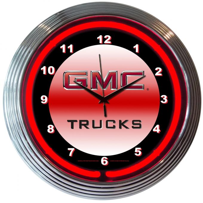 Neonetics Neon Clocks, Gmc Truck Neon Clock