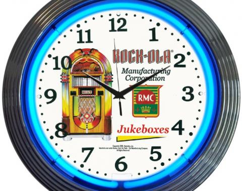Neonetics Neon Clocks, Rock-Ola Jukebox Neon Clock