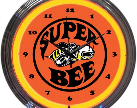 Neonetics Neon Clocks, Super Bee Neon Clock