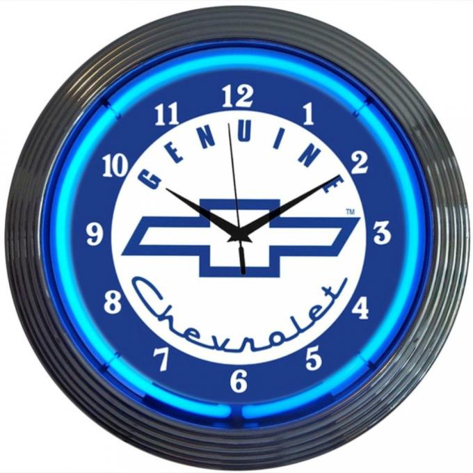 Neonetics Neon Clocks, Gm Genuine Chevy Neon Clock