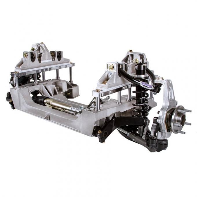 Detroit Speed 1964.5-70 Mustang Aluma-Frame Suspension w/Ford 5 x 4-1/2 Inch Bolt Pattern Double Adj Shock w/Remote 032050-R