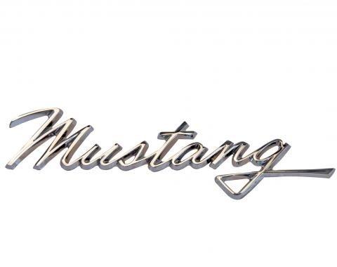 Scott Drake 1968 Ford Mustang Script Fender Emblem C8ZZ-16098-A