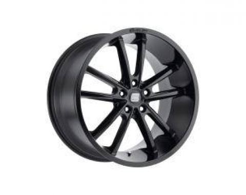 Carroll Shelby Wheels 2005-2020 Ford Mustang CS2 20x11, Black CS2-215455-B