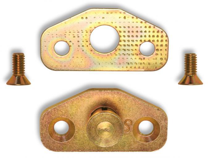 Scott Drake Door Striker Plate & Shim C2OZ-6222008-B