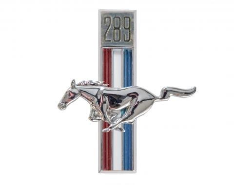 Scott Drake 1967-1968 Ford Mustang 67-68 289 Running Horse Fender Emblem (LH) C7ZZ-16229-C