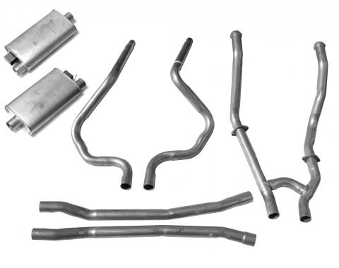 Scott Drake 1964-1968 Ford Mustang 64-68 Dual Exhaust Kit C5ZZ-5246/30-K