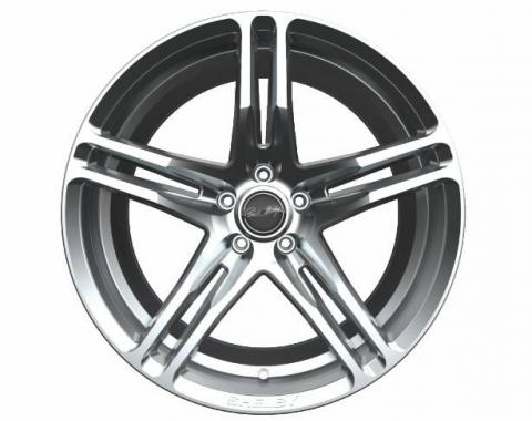 Carroll Shelby Wheels 2015-2020 Ford Mustang CS14 20x11, Chrome Powder CS14-215455-CP