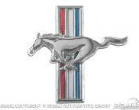 Scott Drake 1964-1966 Ford Mustang Running Horse Fender Emblem (64-66 All & 67-68 6 Cyl, LH) C5ZZ-16229-B