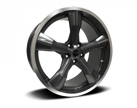 Carroll Shelby Wheels 2015-2020 Ford Mustang CS11 20x9.5, Gunmetal CS11-295530-G