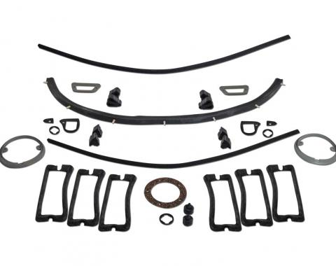 Scott Drake 1967-68 Mustang Basic Repaint Kit KIT-RUB-67-BODY