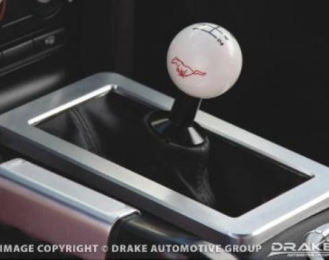 Drake Muscle Cars 2005-2009 Ford Mustang 05-6 Billet 5spd shift boot trim 5R3Z-7262-BL