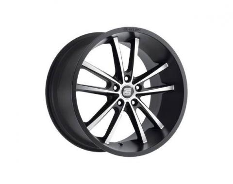 Carroll Shelby Wheels 2015-2020 Ford Mustang CS2 20x11, Black w/Machined Face CS2-215455-MB