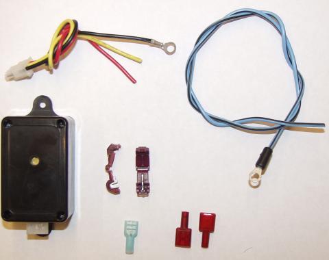 "Scott Drake 1967 Ford Mustang Headlamp ""on"" warning kit C6AZ-14931-AR"