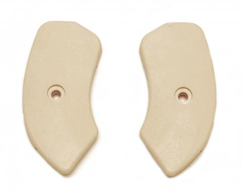 Scott Drake 1964-1967 Ford Mustang 64-67 Seat Hinge Covers (Neutral) C5ZZ-6561692/3N
