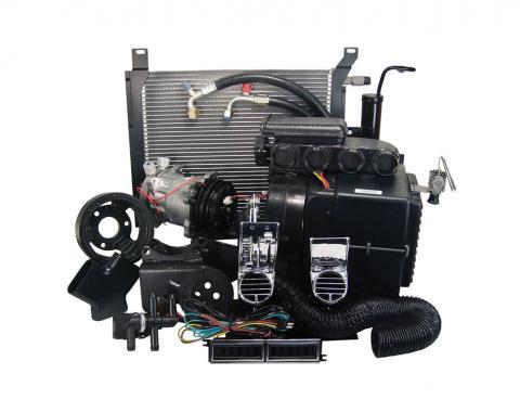 Scott Drake 1968 Mustang Hurricane AC & Heater Kit w/ Electronic Controls and Dash Bezels CAP-1268M-390