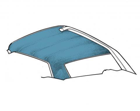 Scott Drake 1965-1970 Ford Mustang 65-70 Coupe Headliner (Medium Blue) HL-FM-CP-65-BL