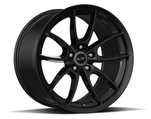 Carroll Shelby Wheels 2015-2020 Ford Mustang CS5 19x11, Gloss Black CS5-911550-B