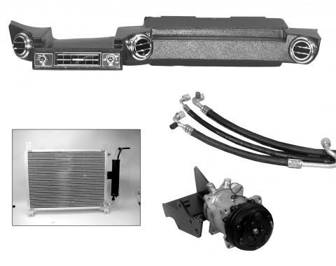 Scott Drake Hurricane Heater/AC Kit (351C, 400 Mustang/Cougar) CAP-1069M-351C