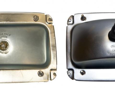 Scott Drake 1964 ½ Mustang Tail Light Housing, Left Hand C4ZZ-13434-L