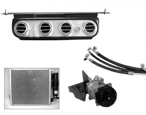 Scott Drake 1967-1968 Ford Mustang AC Kit (289, Power Steering) CAP-367M-289P