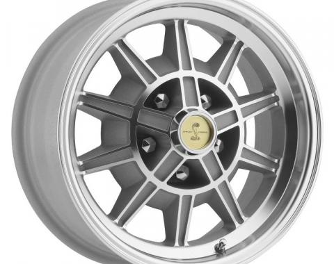 Legendary Wheels 1964-1973 Ford Mustang 15 x 7 GT7 Alloy Wheel, 5 on 4.5 BP, 4.25 BS, Machined / Clear Coat LW10-50754C