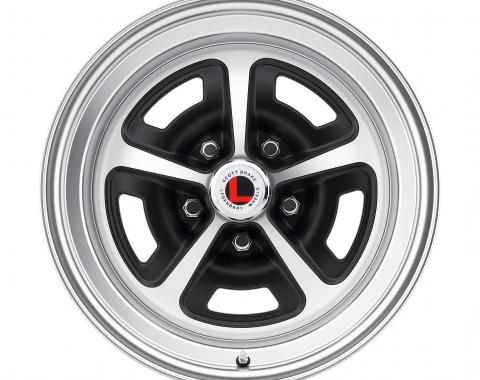 Legendary Wheels 1967-1973 Ford Mustang 17x8 Magnum 500 Alloy Wheel, 5 on 4.5 BP, 4.75 BS, Satin / Black LW50-70854D
