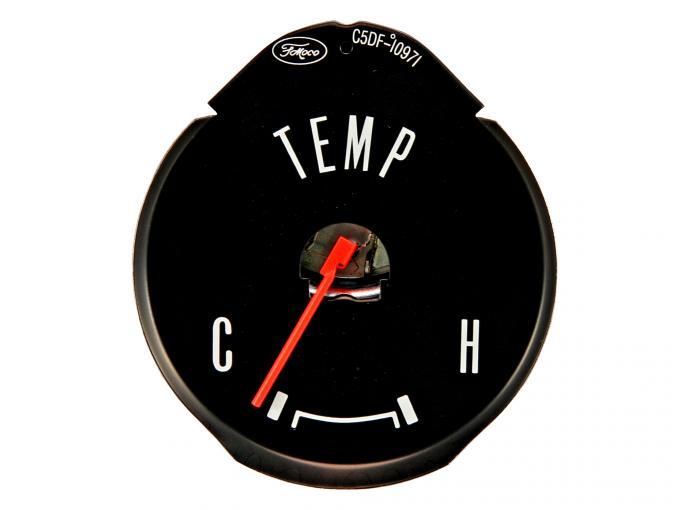 Scott Drake 1964-1965 Ford Mustang Standard Temperature Gauge C5DF-10971