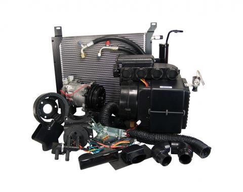 Scott Drake 1968 Mustang Hurricane AC & Heater Kit w/ Electronic Controls (289-302 w/ P/S) CAP-1368M-289P