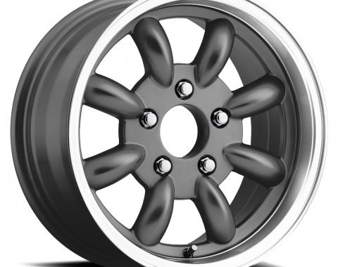 "Legendary Wheels 1964-1973 Ford Mustang LW 80 17x8 ""t/a"" Alloy Rim, Charcoal LW80-70854B"