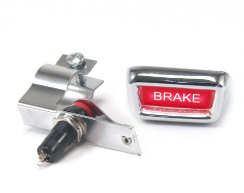 Scott Drake 1965-1966 Ford Mustang Parking Brake Warning Light (Stick-On) C4DZ-15A852-A1