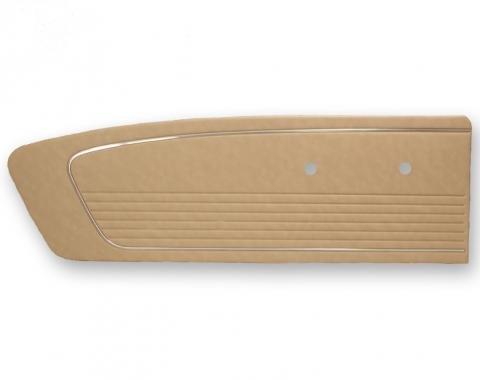 Scott Drake 1966 Standard Door Panels (Parchment) C6ZZ-65239423PR