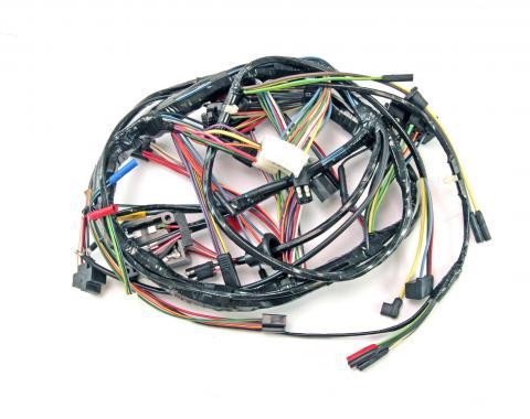 Scott Drake 1968 Underdash Harness with Tach C8ZZ-14401-STDT