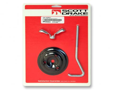 Scott Drake 1965-1967 Ford Mustang Spare Tire Mounting Kit Hook (Bolt Style) C5ZZ-14244862-K