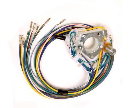 Scott Drake 1970 Ford Mustang 70-2 Turn Signal Switch (Non-Tilt) D2AZ-13341-C