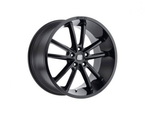 Carroll Shelby Wheels 2005-2020 Ford Mustang CS2 20x9, Black CS2-295430-B