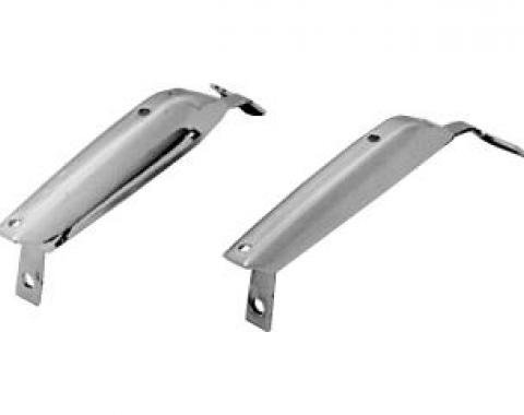 Scott Drake 1967 Ford Mustang Front Bumper Guards C7ZZ-17996/7-A