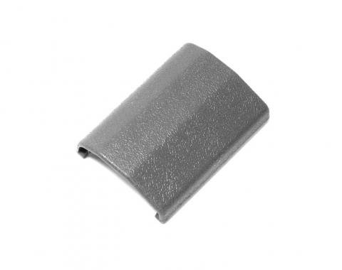 Drake Muscle Cars 1983-1989 Ford Mustang 83-89 Seat belt buckle cover, gray E4ZZ-6161264-G