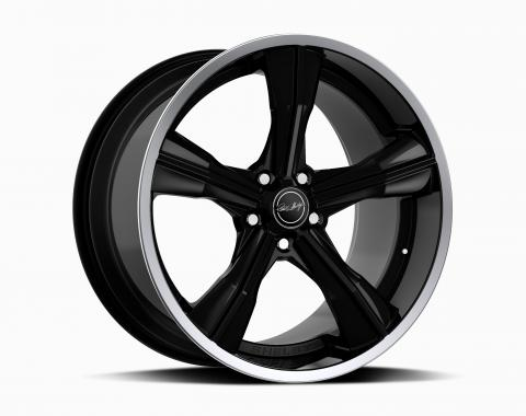 Carroll Shelby Wheels 2015-2020 Ford Mustang CS11 20x9.5, Gloss Black CS11-295530-B