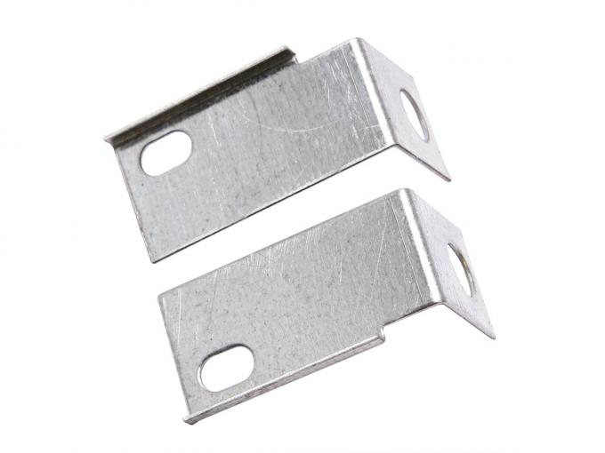 Scott Drake 1967-1968 Ford Mustang Rear Splash Shield Support Brackets C7ZZ-16256/7-A