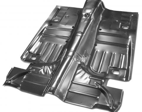 Scott Drake 1965-1968 Ford Mustang 1964-68 Complete Floor Pan (Convertible, includes lower pans) M107-8-FFCV